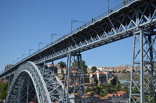 Portugal, Porto, Ponte Dom Luis I