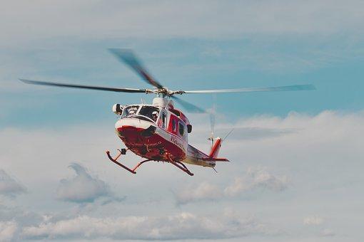 Helicopter, Propeller, Pilot, Aircraft, Aviation