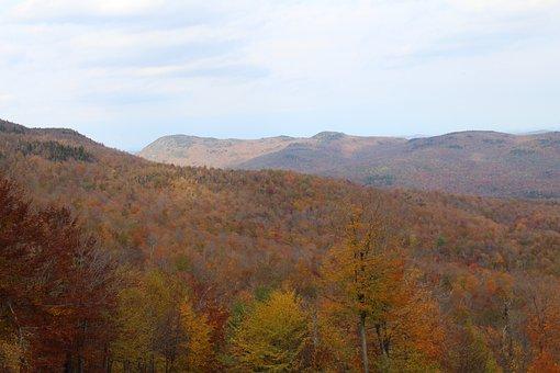 Mountain, Fall, Season, Landscape