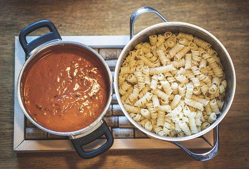 Noodles, Tomato Sauce, Cook, Food, Eat, Pasta, Italian