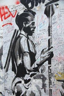 Wall, Street Art, Graffiti, Mural, Urban, Street