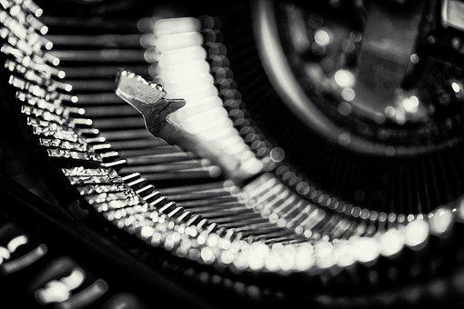 Typewriter, Types, Write, Type, Antique, Writer, Old
