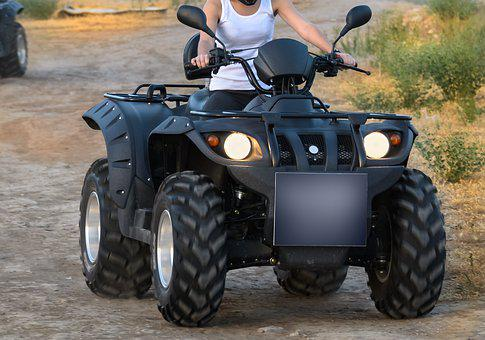 Sports, Actions, Outdoors, Quadbike