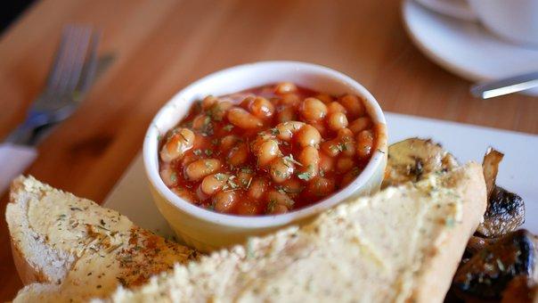 Beans, Baked Beans, English Breakfast