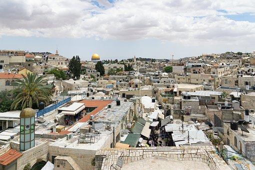 Jerusalem, City, Israel, Skyline, Historic Center