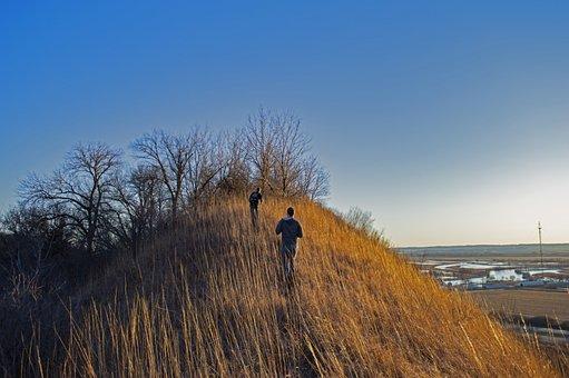 Loess Hills, Loess Hills Missouri, Nature, Winter, Fall