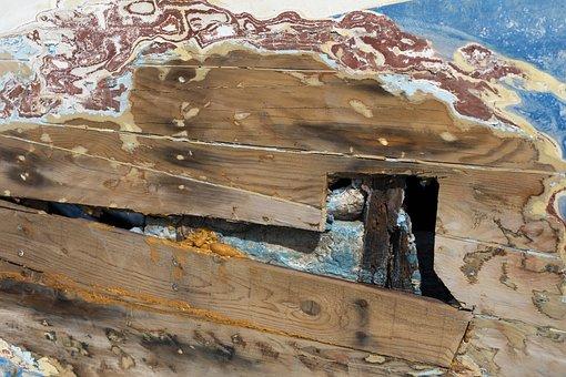 Wood-fibre Boards, Wood, Texture, Surface, Macro, Close