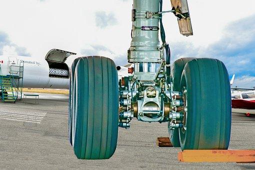 Plane Tire, Aviation, Terminal, Tires, Mechanics
