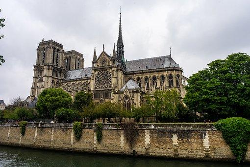 Notre Dame, Paris, France, Cathedral, Church