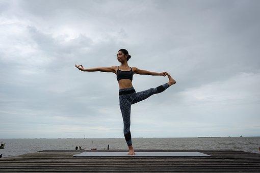 Professional, Trainer, Yoga, Exercise, Fitness, Pilates