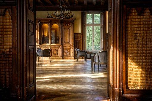 Room, Space, Parquet, Salon