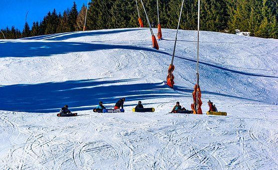 Snowboarding, Snowboard, Action, Extreme, Snowboarder