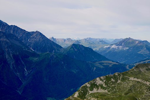 Alps, Mountains, Summer, France