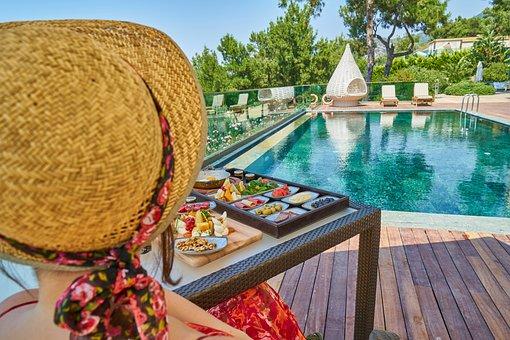 Holiday, Resort, Hotel, Summer, Travel, Woman, Human
