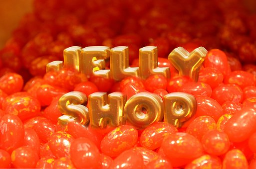 Jelly Beans, Sweets, Site, Colored, Shop