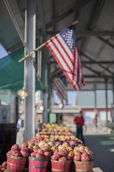 Flag, America, Usa, American, National, United