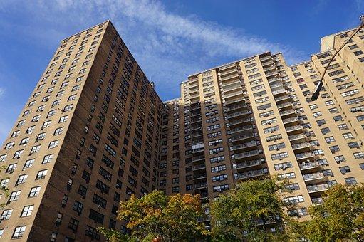 Ebbets Field, Building, Urban, Brooklyn, Apartments