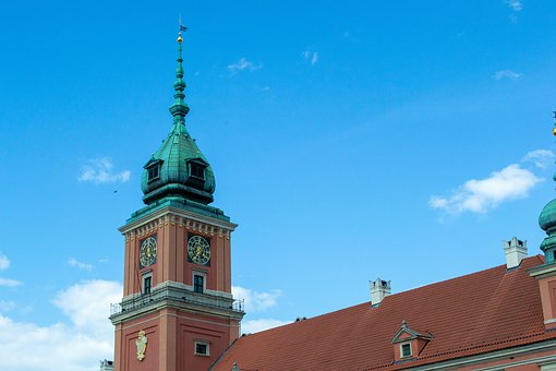 Warsaw, Capital, Old Town, Poland, Architecture, Tower