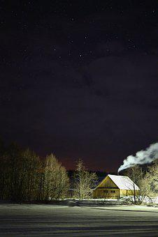 Earth Hour, Landscape, Nature, Stars, Galaxy, Astronomy