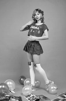 Baby Doll, Bow, Puppet, Barbie, Photoshoot, Legs
