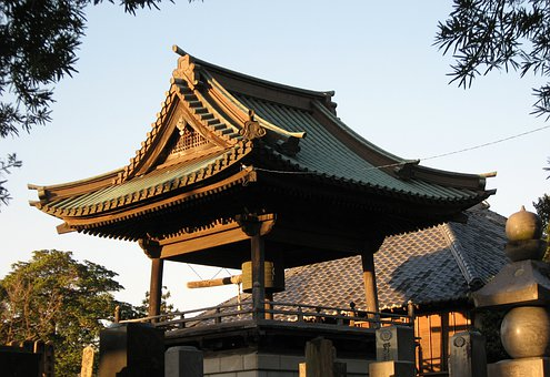 Landscape, Temple, Buddhism, Bell, The Bell Tower