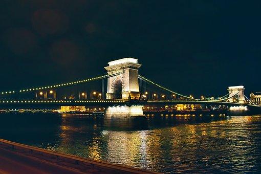 Architecture, Bridge, Budapest, Building