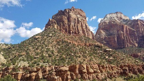 Utah, Rocks, Landscape, Geology, Desert