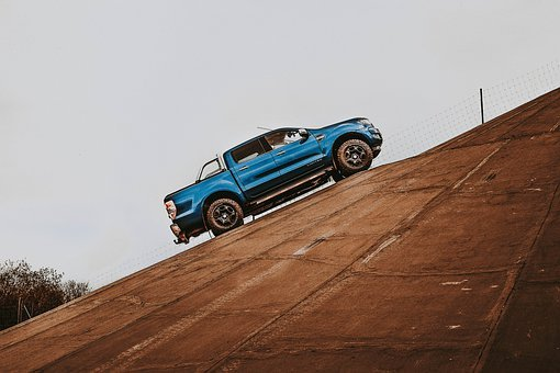 Ford, Ranger, Car, Pickup, Offroad, Climbing, To Enter
