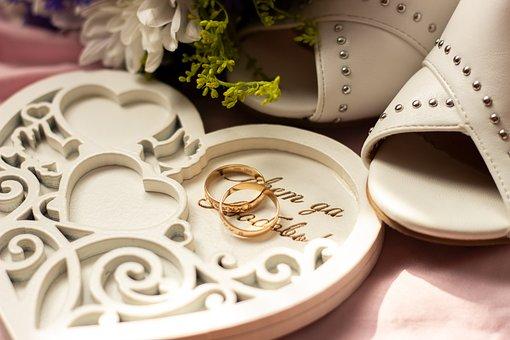 Wedding, Rings, Love, Marriage, Gold, Novel