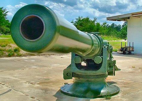Artillery, Gun, Army, Military, History, Battlefield