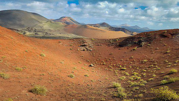 Mountains, Sand, Lava, Mountain, Nature, Landscape, Dry