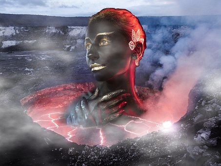 Volcano, Lava, Hot, Magma, Fire, Volcanic Eruption