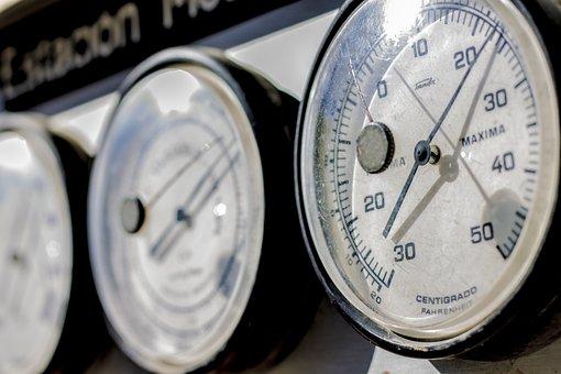 Barometer, Needle, Instrument, Pressure, Measurement