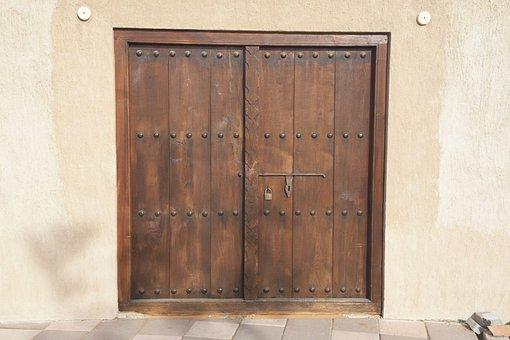 Old Door, Door, Wood, House, Gate, Doorway, Closed