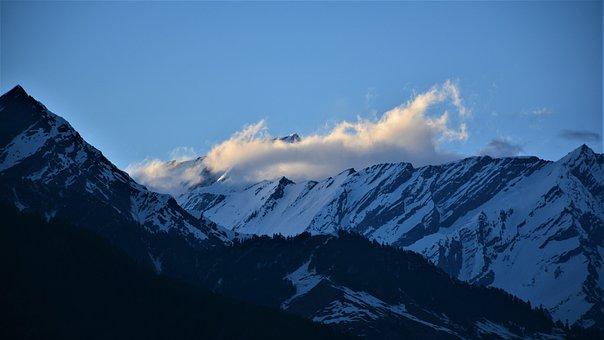 Himalaya, India, Nature, Sky, Outdoor