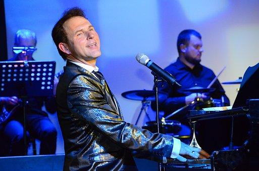 Piano, Show, Music, Singer, Art