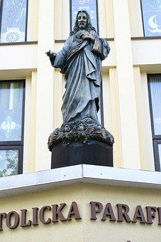 Sculpture, Statue, Figure, God, The Angels, The Mystic
