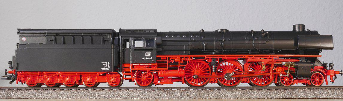 Steam Locomotive, Model Railway, Scale H0