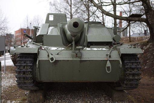 Tank, Assault Armor, Stu-40, War