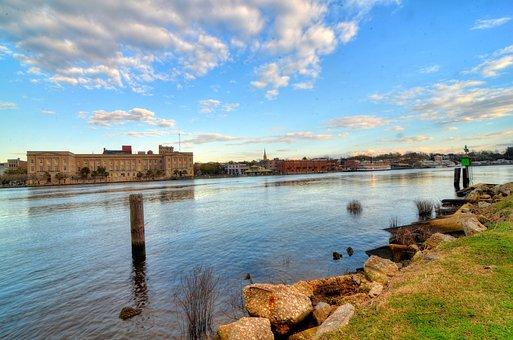 Wilmington, Waterfront, Cape Fear River
