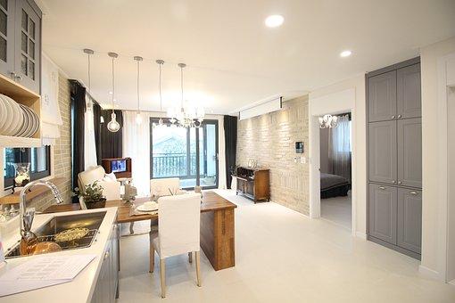 House, Room, Living Room, Apartments, Home, Sofa