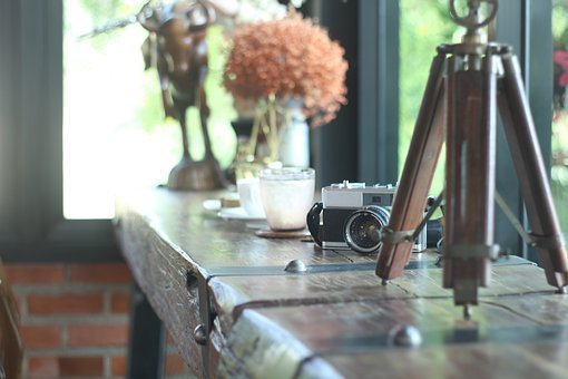 Coffee, Cafe, Design, Vintage, Style, Background