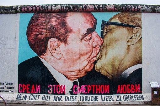 Berlin Wall, Monument, Berlin, Wall