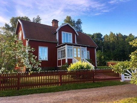 Sweden, Swedish House, Sweden Houses, Building, Swedish