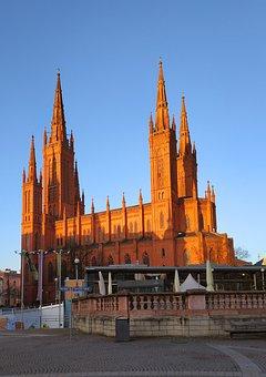 Church, Wiesbaden, Market Church
