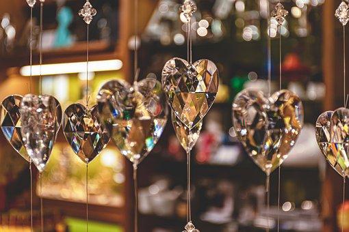 Christmas Stocking, Crystals, Decor