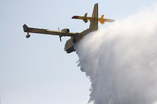 Fire Fighting Aircraft, Water, Fire Fighting, Seaplane