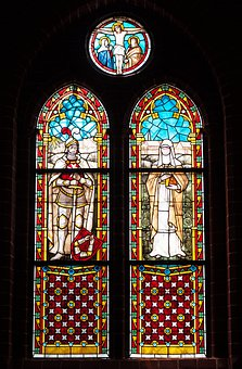 Church Window, Stained Glass, Leaded Glass, Gothic