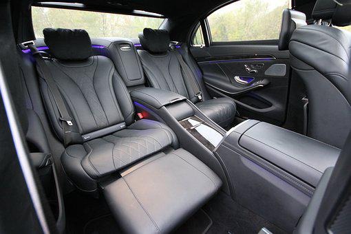 Salon, Interior, Seat, Sofa, Back Row, Separate Seat