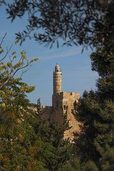 Jerusalem, Israel, Tower Of David, Tower, David